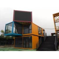 China Light Metal Sandwich Panel Container House For  Workers Office House on sale