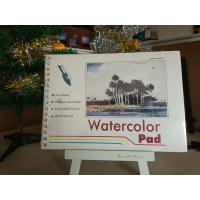 Buy cheap 190gsm 24sheets Artist Paint Pad gummed watercolour pad A3 / A4 watercolour paper product