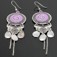 Buy cheap Drop Earrings, Made of Metal and Zinc Alloy, Customized Specifications are Accepted product