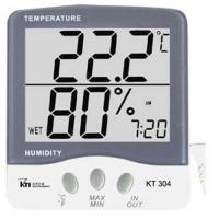 Buy cheap Internal and External LCD Thermometer Hygrometer product