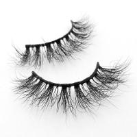 Quality Private label mink eyelashes strip lashes with custom eyelash box for sale