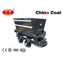 Buy cheap Coal Mining Equipment Rocker Side Dumping Coal Mine Ore Cart KFU Series product