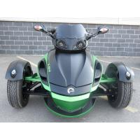 China 1000cc Can Am 3 Wheel Motorcycle , V - Twin 2 Front Wheel Motorcycle Liquid Cooled wholesale