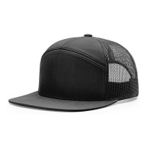 Buy cheap 7 Panel Trucker Cap Richardson Style Wholesale Blank Flat Brim 958 Snapback Hat Cap for Men product