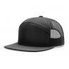Buy cheap 7 Panel Trucker Cap Richardson Style Wholesale Blank Flat Brim 958 Snapback Hat from wholesalers