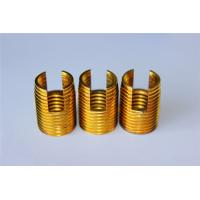 high quality and hot sales Customied self tapping threaded insert M3 M4 M5 M6 M8 M10 Brass inserts