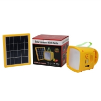Buy cheap Mobile Solar Charger Portable Solar Energy FM Lantern Radio Off Grid Mini Camping Lamp Rechargeable Phone Charger from wholesalers