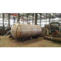 Buy cheap Liquid / Air Storage Pressure Vessel Tank with Stainless Steel Carbon Steel product