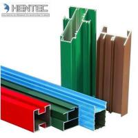 Buy cheap Customerized Aluminum Window Extrusion Profiles Wooden Finished 6005 / 6061 / 6063 product