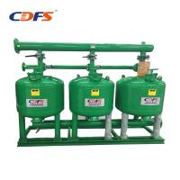 Buy cheap Industrial Automatic Sand Filter 6 - 228 M3 / H Back Washing Flow DMF Models product