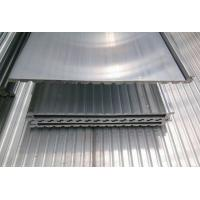Quality 6063 T5 Extrusion Waterproof Aluminum Decking Flat Board with Interlocking for sale