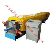 Buy cheap Automatic Water Drainage Pipe Roll Forming Machine / Metal Eaves Gutter Equipment product
