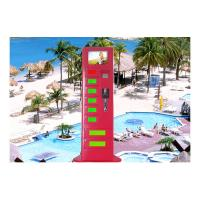 Advertising Information Quick Cell Phone Charging Kiosk for Resorts / Tourist Attraction / Scenic Spots