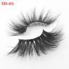 Buy cheap Private label hot sell 25mm eyelashes mink eyealshs dramatic eyelashes from wholesalers