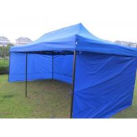 Buy cheap Fireproof Polyester Pop Up Gazebo Tent Half - Wall Side With PVC Windows product