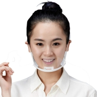 Buy cheap Food Service Sanitary Transparent Plastic Mouth Cover product