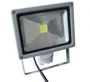 Buy cheap Energy Saving Cool / Warm White Outdoor Led Flood Light With PIR Sensor product