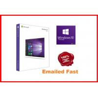Buy cheap Windows 10 Pro Retail Box , Win 10 Pro Pack  64 Bit 3.0 usb flash drive activated online working lifetime product