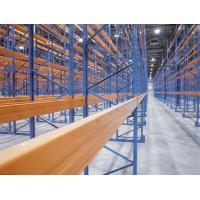 China Zinc Plated High Density Narrow Aisle Pallet Racking For Industrial Storage on sale