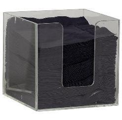 Quality Support acrylique de table de serviette avec la conception et le logo du client for sale