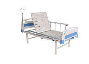 Buy cheap Semi-fowler Hospital Bed Manual Hospital Bed Medical Equipment One Functions Manual Adjustable 1 Cranks Hospital Beds product