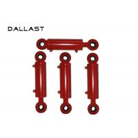 Buy cheap Farm Truck Double Acting Hydraulic Cylinder ISO9001 Certification , Double Acting Ram Cylinder product