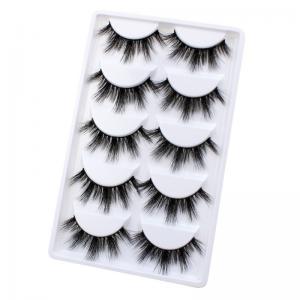 Buy cheap 3d Glamorous Fashion Mink Eyelashes Faux Mink Individual Lashes Natural Long product