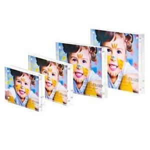 Buy cheap colorful acrylic photo blocks  acrylic magnetic photo frame product