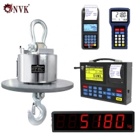 Buy cheap NVK Direct View Weighing Crane Scale High Temperature Resistance Hanging Crane Scale with Remote Contral and Screen product