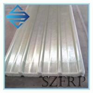 China Corrug frp translucent roof sheet greenhouse fiberglass skylight panels on sale