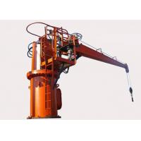 Buy cheap 0.7 R/Min Offshore Marine Cranes Electric Hydraulic Telescopic Boom 3T40M Provision Ship Deck product