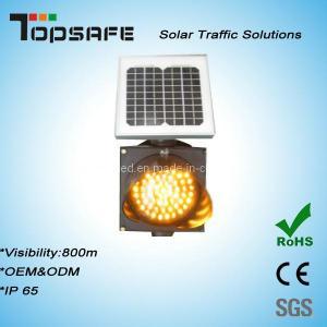 Buy cheap High Luminance Anti-High (low) Temperature 300mm Solar LED Traffic Amber Flashing Light product