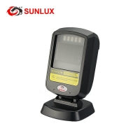 Buy cheap Cheapest Price 1D 2D QR Code USB Wired Handfree Barcode Scanner Black from wholesalers