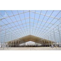 Temporary Industrial Storage Buildings Movable Plant Tent With Functional Container
