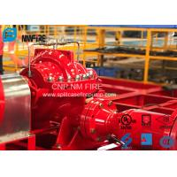 Quality UL FM Approved Split Case Fire Pump 300 Feet For Supermarkets , NFPA20 Standard for sale