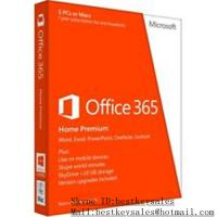 Buy cheap Microsoft Office activation key code for Office 365 Home Premium for 5PC product