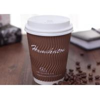 Triple Environmentally Friendly Disposable Cups For Hot Drinking / Coffee