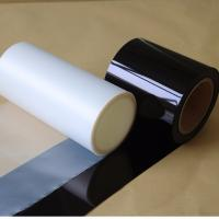 China PET Black Film For Car Glass / Building Window Protection With 99% UV Blocking on sale