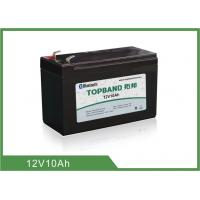 Buy cheap Type prismatique 12 V 10Ah de cycle de lithium de fer de batterie profonde de phosphate product