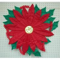China Sewn Stuff W2108 - Poinsettia wholesale