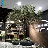 Buy cheap Green Branches Faux Olive Tree Natural Color For Indoor Decoration product