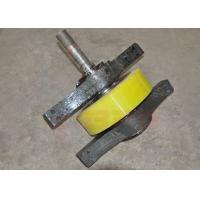 Buy cheap Box Girder Structure Mining Cart Wheels , Gantry Crane Rail Wheels With Driving System product