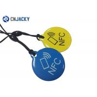 Quality 1K / 4K Smart RFID Epoxy Tag NFC Key Tag For Access With 125KHz T5577 Chip for sale
