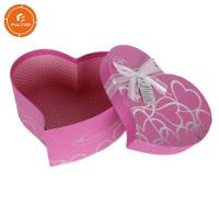 Buy cheap Decorative gift box with ribbon heart shaped pretty chocolate case product