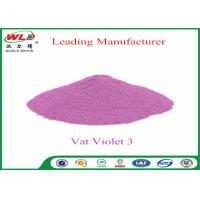 Buy cheap Customized Wool Permanent Fabric Dye C I Vat Violet 3 Vat Violet RRN product