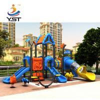 Buy cheap Anti Aging Play Structure Slide Rubber Coated Or Powder Coating Decks product