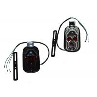 Buy cheap ABS Harley Motorcycle Spare Parts , Black 12v Led Motorcycle Tail Lights product