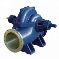 Axial Split Case Double Impeller Centrifugal Pump High Capacity Water Suction