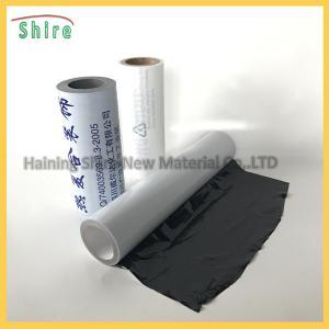 Cinta durable del polietileno de la película protectora del acero inoxidable con el pegamento de la resina de acrílico