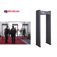 Buy cheap 6 zone high sensitivity  Door frame metal detector with remote control product
